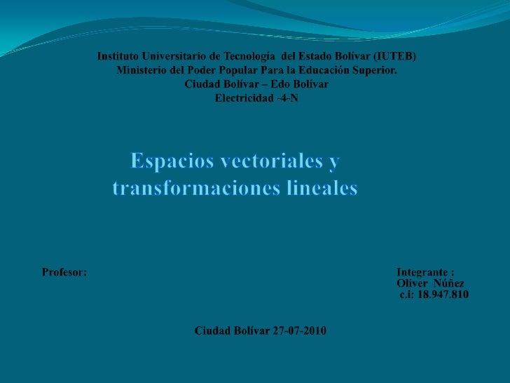 Instituto Universitario de Tecnología  del Estado Bolívar (IUTEB)Ministerio del Poder Popular Para la Educación Superior.C...