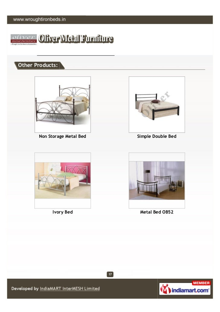 Other Products:       Non Storage Metal Bed        Simple Double Bed             Ivory Bed               Metal Bed OB52   ...
