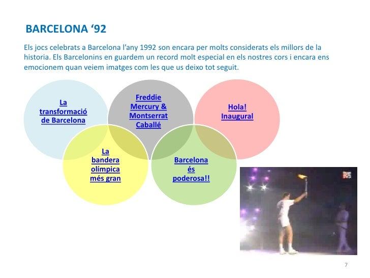 BARCELONA '92Els jocs celebrats a Barcelona l'any 1992 son encara per molts considerats els millors de lahistoria. Els Bar...