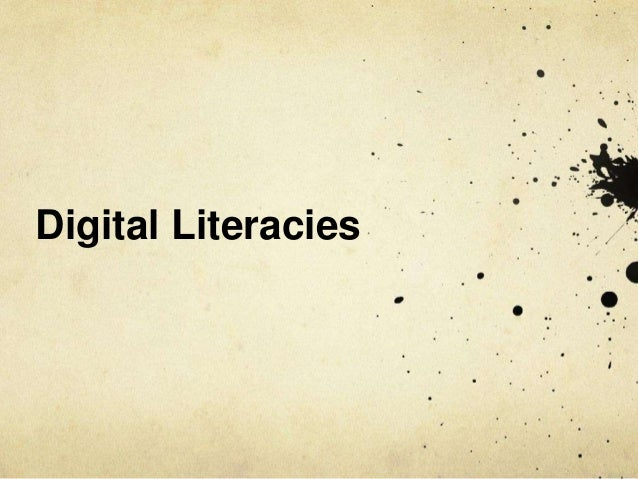 Rethinking digital literacies: a sociomaterial analysis of students use of technology Slide 3