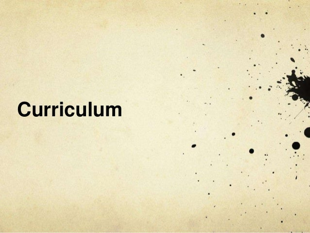 Invisible practices and the technologies of the curriculum: Exploring the enactment of the academic self Slide 3