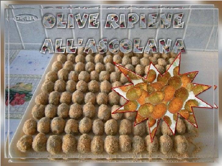 Ingredienti per farcire 1 Kg di olive verdi in      salamoia, pesate già snocciolate:     700 gr polpa magra di carni mist...