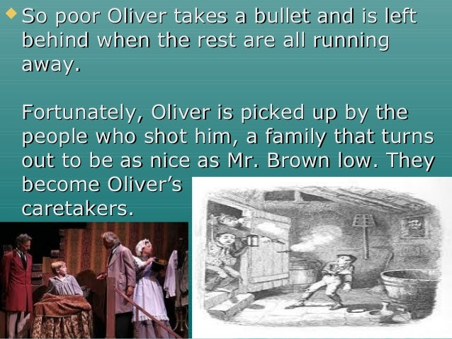  So poor Oliver takes a bullet and is leftSo poor Oliver takes a bullet and is left behind when the rest are all runningb...