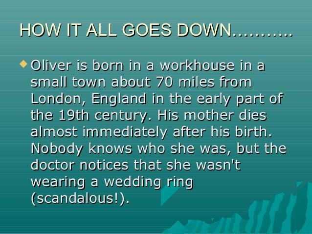 Oliver twist sad story by Elimringi Moshi Slide 3