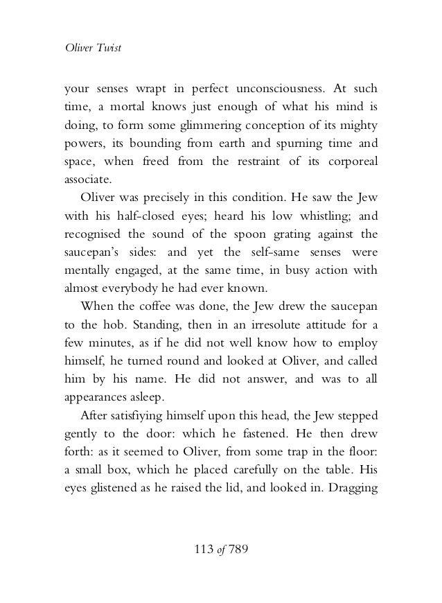 OLIVER TWIST the book uploaded by Elimringi Moshi on 24.08.2013