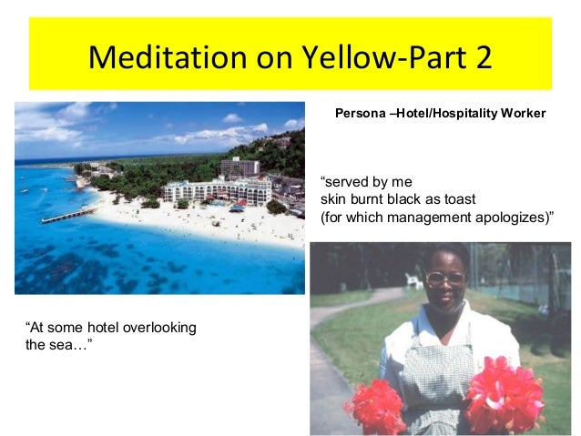 meditation on yellow by olive senior essay If you or someone you love has been diagnosed with cancer, learn about diagnosis, treatment, risk factors, and much more.