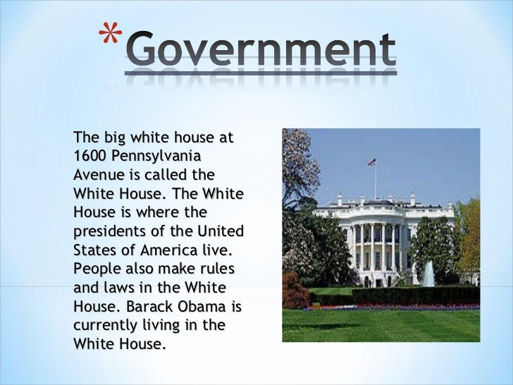 The big white house at 1600 Pennsylvania Avenue is called the White House. The White House is where the presidents of the ...