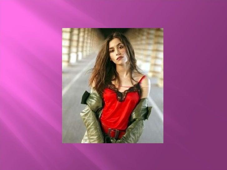 Olivia Ruiz (Blanc) Mª Margarida Slide 1