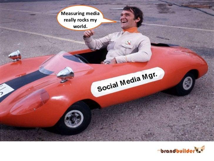 Measuring media<br />really rocks my<br />world. <br />