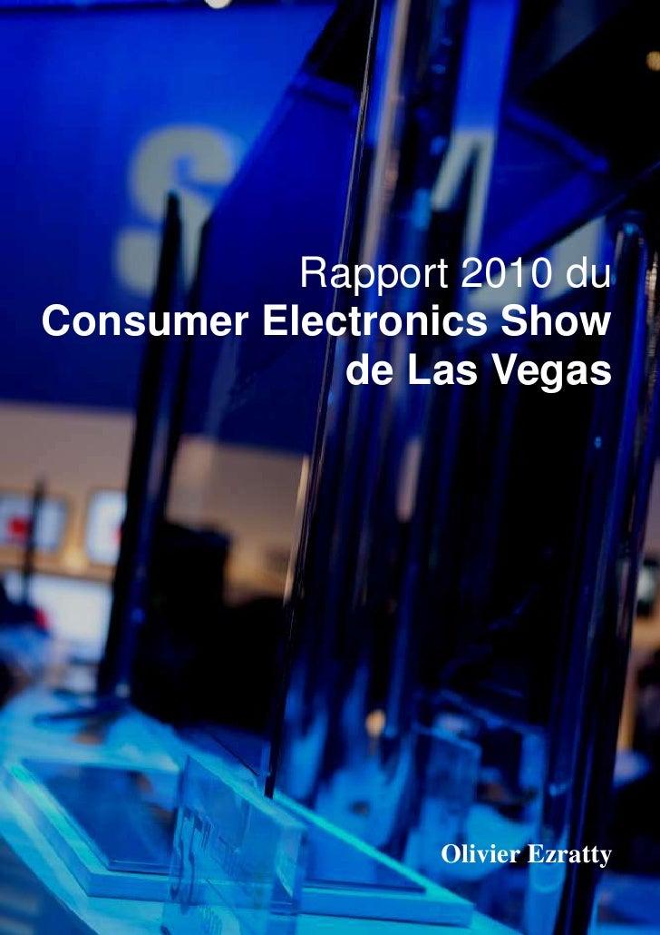 Rapport 2010 du Consumer Electronics Show              de Las Vegas                                                       ...