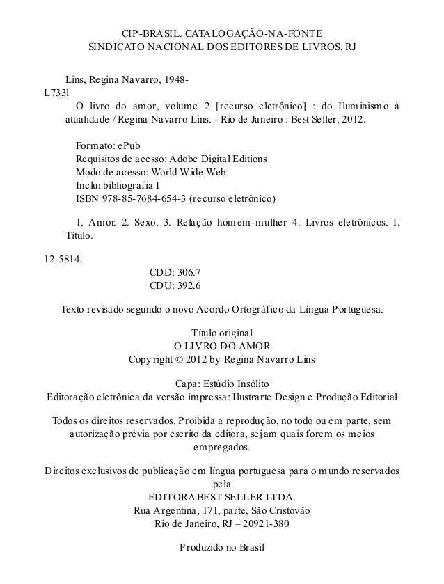 O livro do amor volume 2 regina navarro lins 1 4 fandeluxe Gallery
