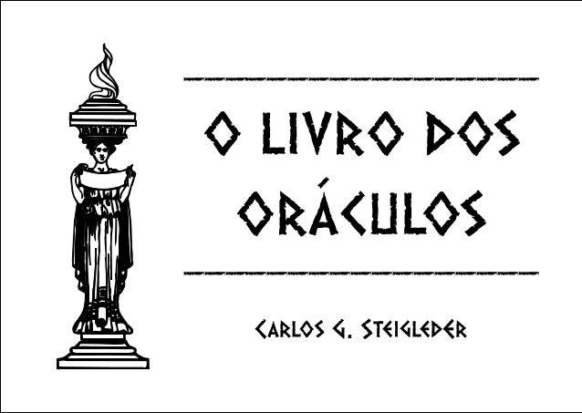 O livro dos oráculos