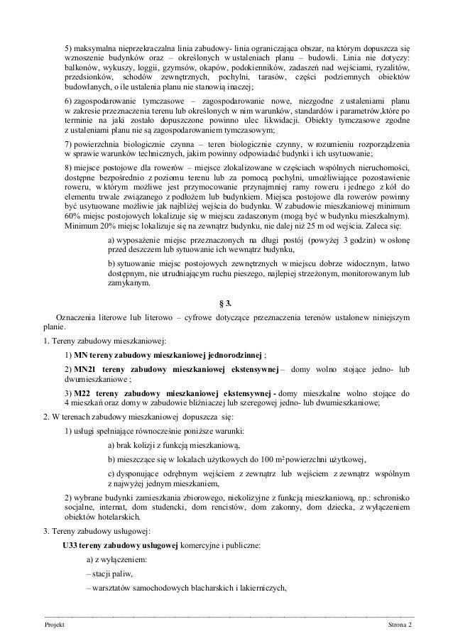 Oliwa – VII Dwór rejon ulicy abrahama druk 1190 uchwała Slide 2