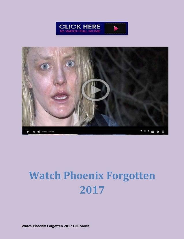 Phoenix Forgotten Deutsch