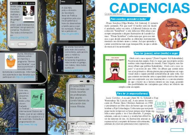 Ollos de aula. Nº 16 (outubro 2014). Versión para imprimir en A4 a dobre cara Slide 2