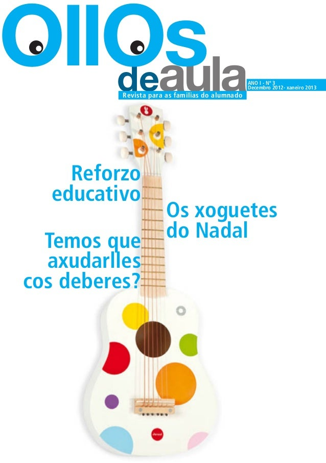 OllOs   deaula Revista para as familias do alumnado                                                 ANO I - Nº 3          ...