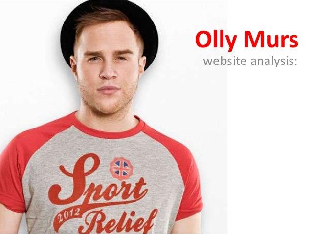Olly Murswebsite analysis: