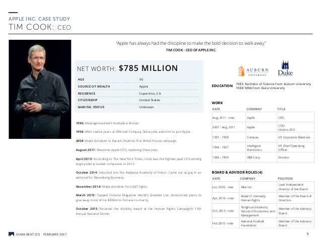 apple inc 2012 case study Case study: apple inc and the challenge of a social responsible management  nowadays, one of the main objectives for most of worldwide companies is to be recognized for its responsible.