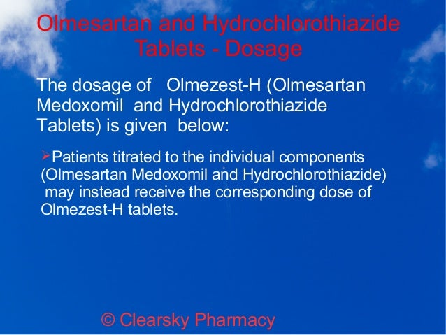 Olmezest h 20 mg or 12.5 mg ft
