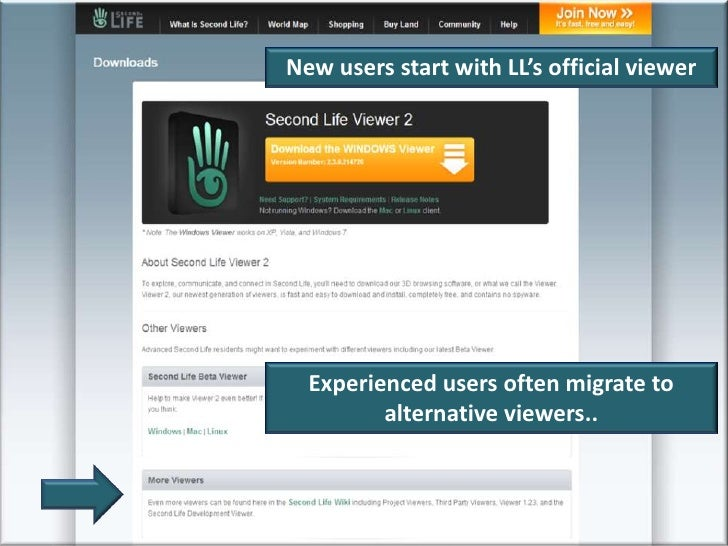 Second life viewer 2 stability update   second life update.