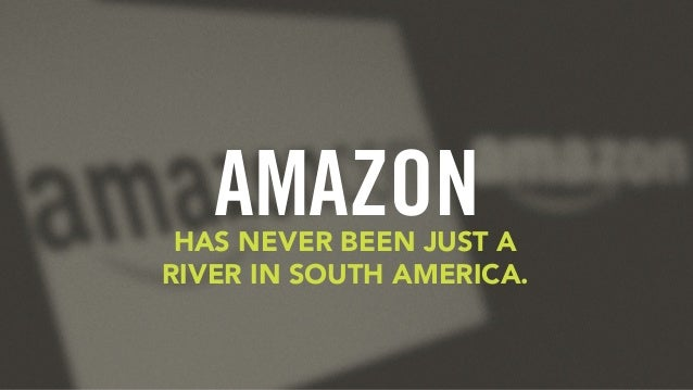 AMAZONHAS NEVER BEEN JUST A RIVER IN SOUTH AMERICA.