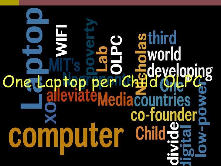 OLPC Program One Laptop per Child OLPC