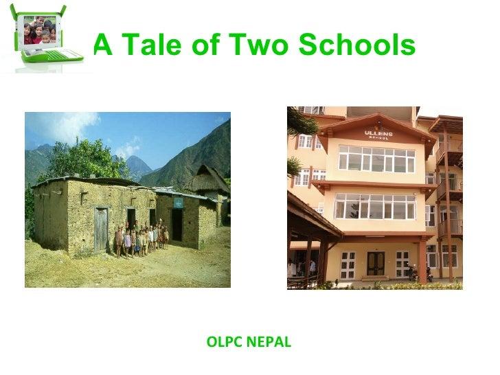 A Tale of Two Schools OLPC NEPAL