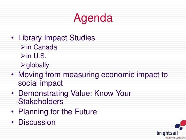 Trends in Demonstrating Library Value Slide 2