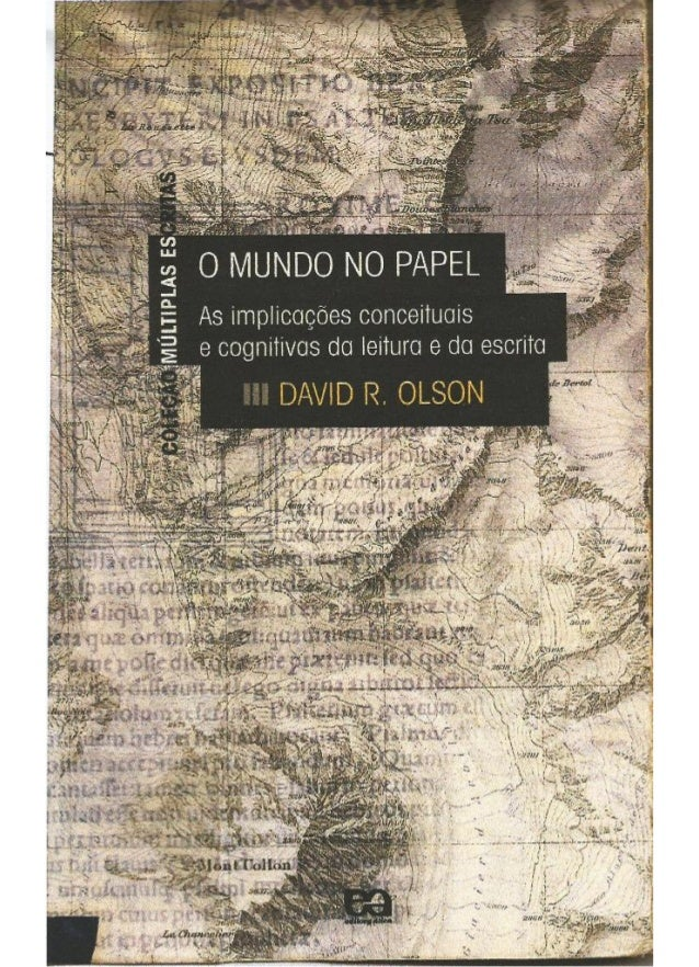 David Olson - O mundo no papel (cap. 1-3)