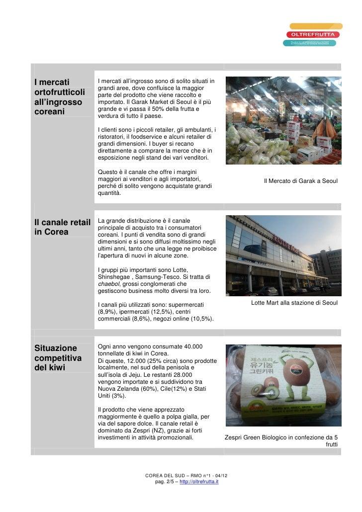 I mercati          I mercati all'ingrosso sono di solito situati in                   grandi aree, dove confluisce la magg...