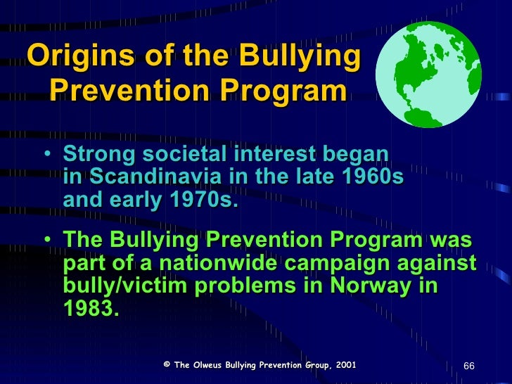 program for bullying awareness Choosing the right anti-bullying program by hemanshu nigam with millions of students returning to schools across the country over the coming weeks,.