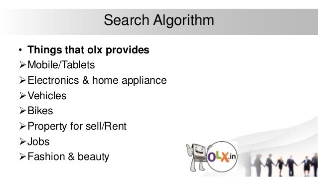 Olx and its working algorithm