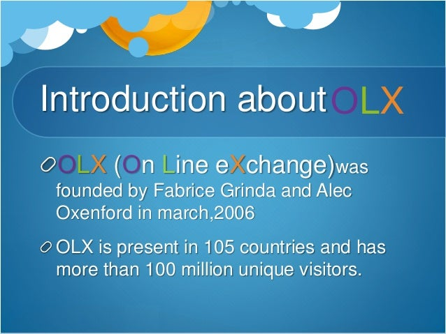 Olx presentation
