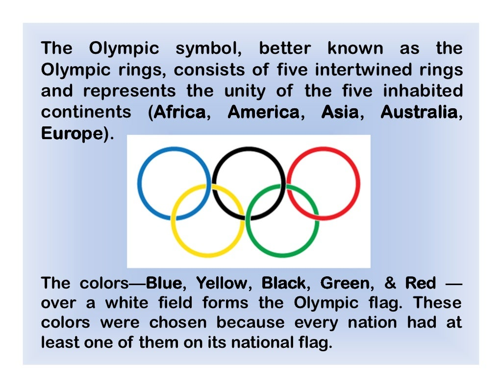 The olympic symbol better known buycottarizona