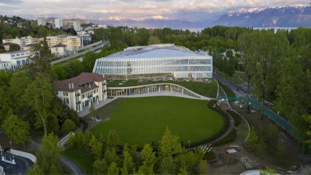 The LEED Platinum-certified Olympic House
