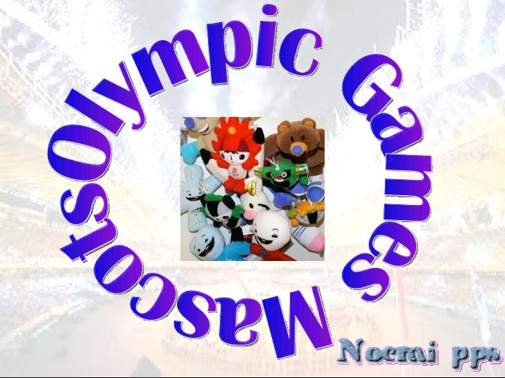 Olympic Games Mascots
