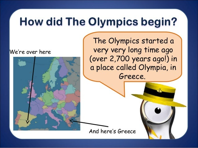 the olympic games originated long ago I know the olympic games originated in greece how long did it take for the idea of the olympics to spread anonymous 4 years ago.