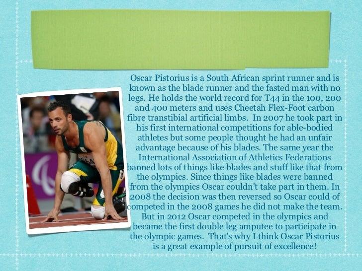 Ella's Olympic presentation