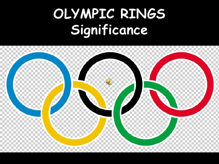 OLYMPIC RINGS  Significance