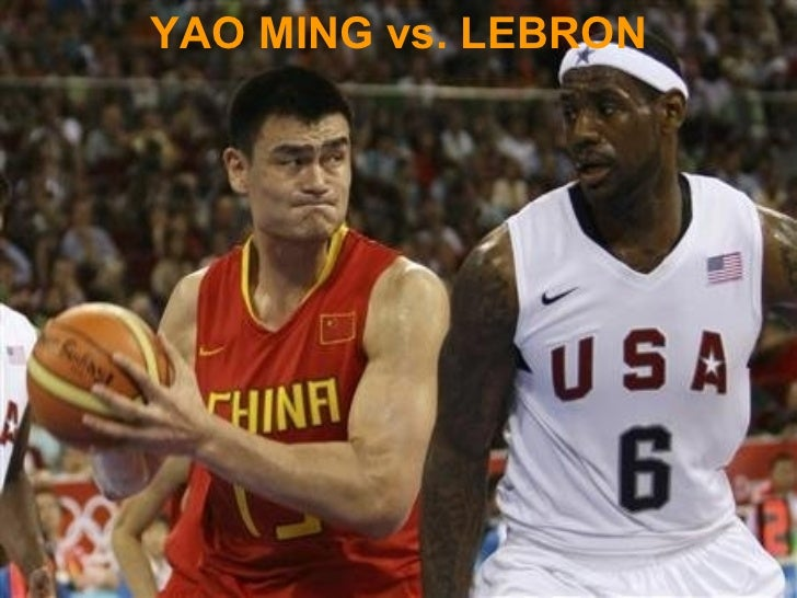 YAO MING vs. LEBRON