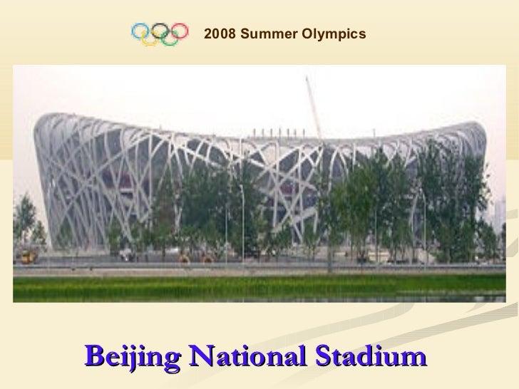 2008 Summer OlympicsBeijing National Stadium