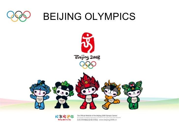 2008 Olympics & China