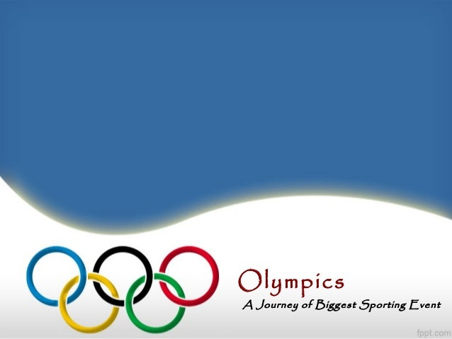 Olympics A Journey of Biggest Sporting Event