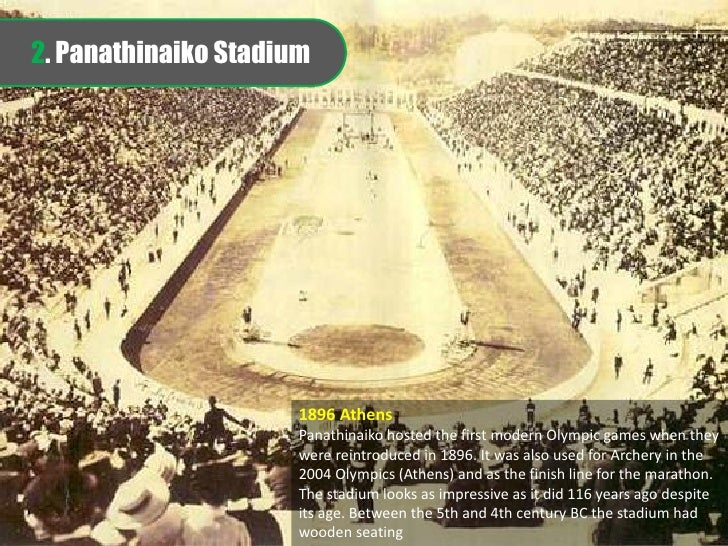 Stadiums of the Olympic - A Picture Journey of Then & Now