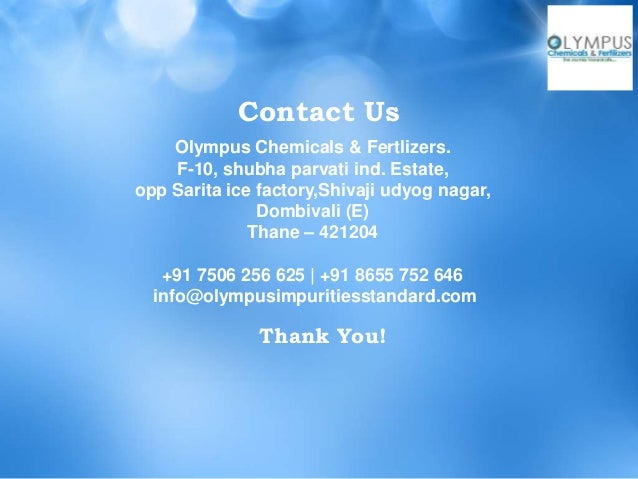 Olympus Chemicals And Fertilizers