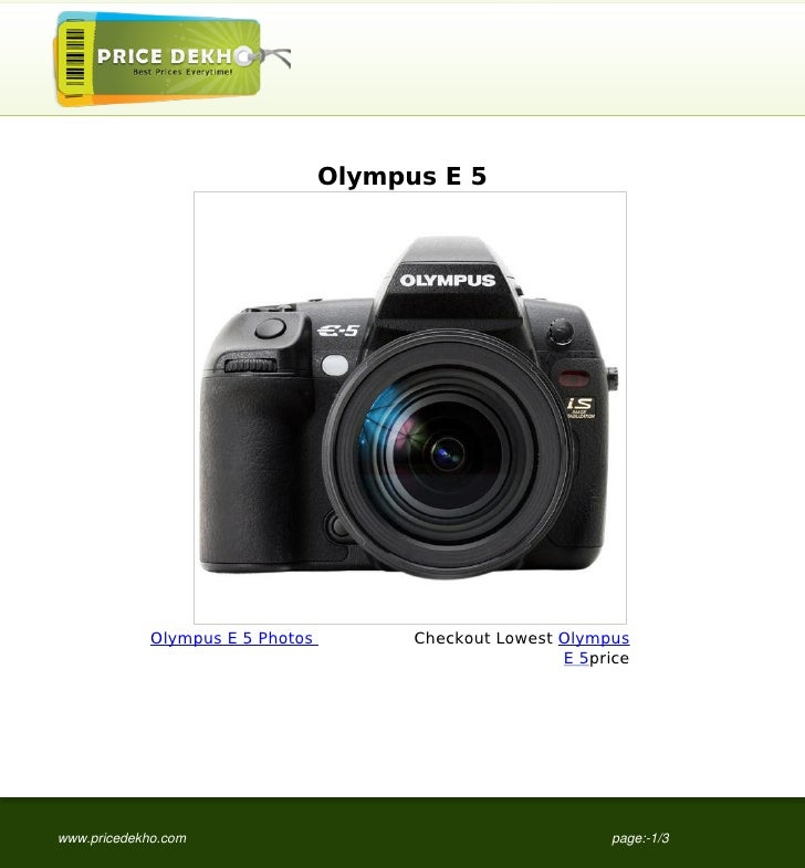 Olympus E 5             Olympus E 5 Photos         Checkout Lowest Olympus                                                ...
