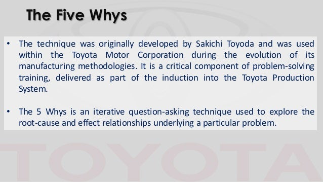 operations management toyota Summary this paper sets out to review past and current research in operations management, and to explore current and future issues facing the area.