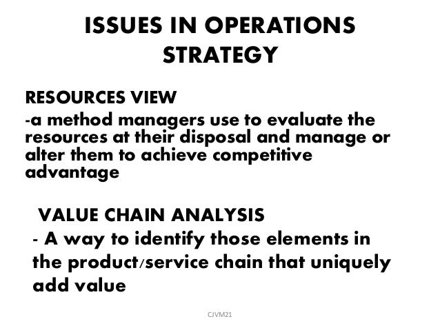operation management chapter 2