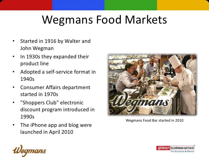 wegmans operations management Wegmans food markets, inc is a privately held american supermarket chain it is headquartered in rochester,  operations a modern wegmans storefront circa 2010.