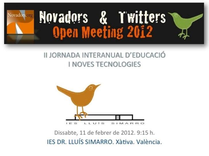 Novadors OM12 català